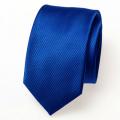 Schmale königsblaue krawatte