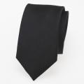 schmale Krawatte schwarz